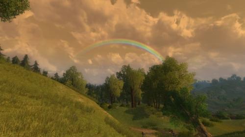 Irgendwo über dem Regenbogen
