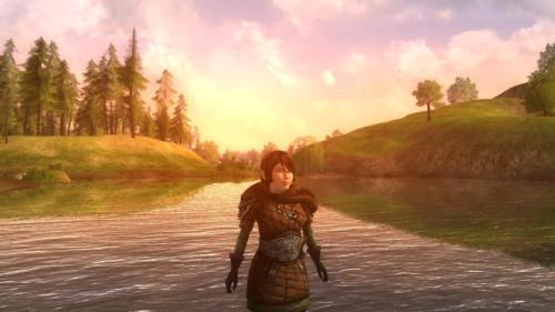 Hobbiton Sunset